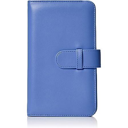 Amazon Basics - Álbum tipo billetera para 108 fotos Instax Mini, color azul cobalto