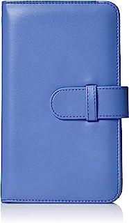 AmazonBasics - Álbum tipo billetera para 108 fotos Instax Mini color azul cobalto