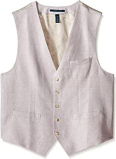 Men's Big and Tall Linen Suit Vest