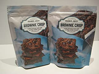 trader joe's brownie crisps