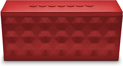 Ematic Portable Bluetooth Speaker and Speakerphone (Red)