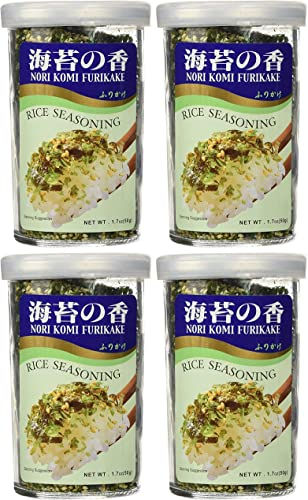 discount Nori Fume Furikake Rice Seasoning - high quality new arrival 1.7 oz (1.7 oz) Pack of 4 outlet sale