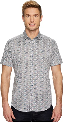 Robert Graham - Modern Americana Colton Short Sleeve Woven Shirt