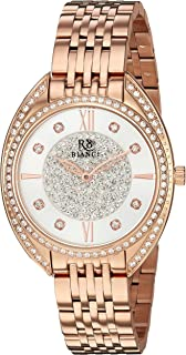 Roberto Bianci Watches Women'S 'Aveta' Quartz Stainless Steel Casual Watch, Color Rose Gold-Toned (Model: Rb0211)
