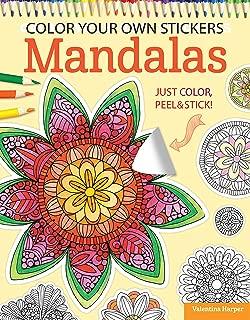 Color Your Own Stickers Mandalas: Just Color, Peel & Stick (Design Originals)