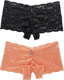 9ccfad2b0a7 Amazon.com  4X - Boy Shorts   Panties  Clothing