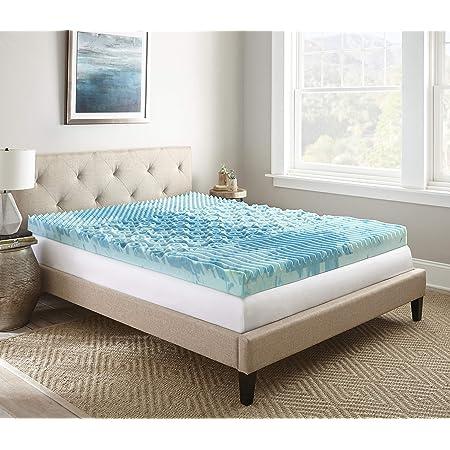 Amazon Com Thomasville Hddod004lqn 4 Memory Foam Mattress Topper Queen Home Kitchen