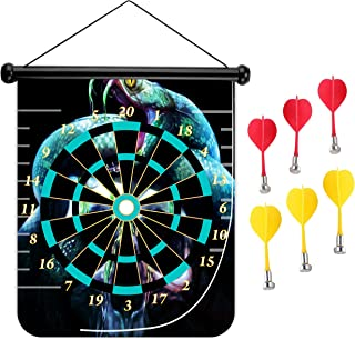 15 inches Magnetic Dart Board Double Sided Hanging Dart Board Set and Bullseye Game! Neverwinter Nights