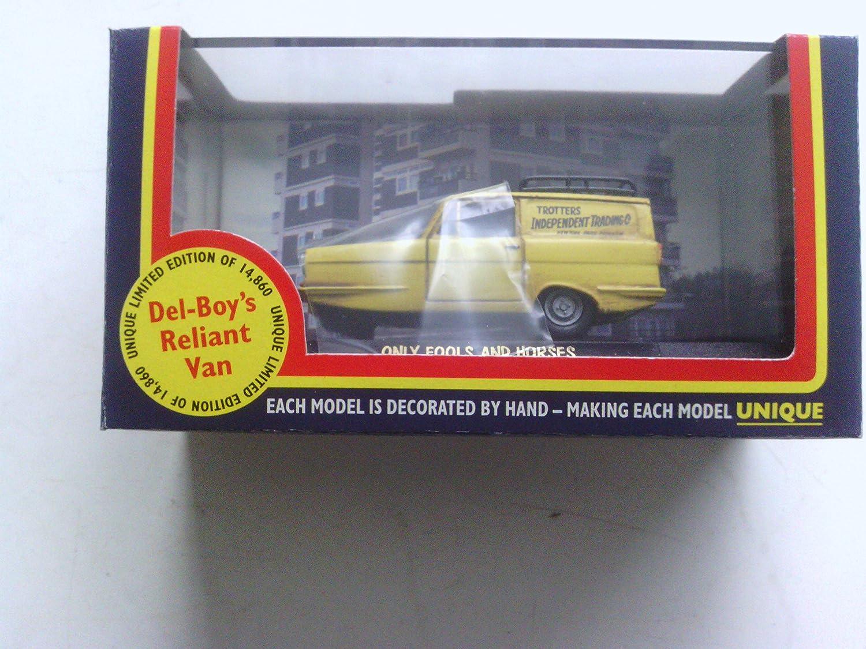 Vanguards Only fools and horses Del Boy Reliant Regal Supervan III