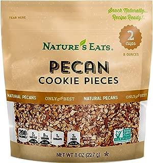 Nature's Eats Pecan Cookie Pieces, 8 Ounce