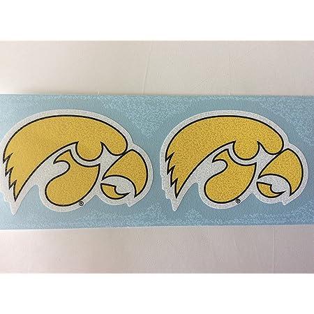 The University of Iowa Hawkeyes Decal Vinyl for car bamper Truck Any Size Iowa Hawkeyes State Stickers Laptop tumblers Window Team Logo NCAA Football hemlet