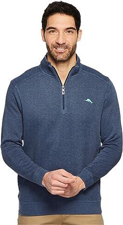 Tommy Bahama - Nassau 1/2 Zip Long Sleeve Knit Shirt