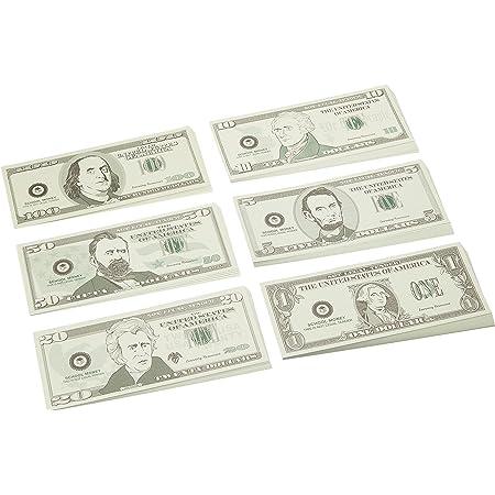 ラーニング リソーシズ(Learning Resources) アメリカ通貨 紙幣 ミニセット 6種類入り LER 3670 正規品