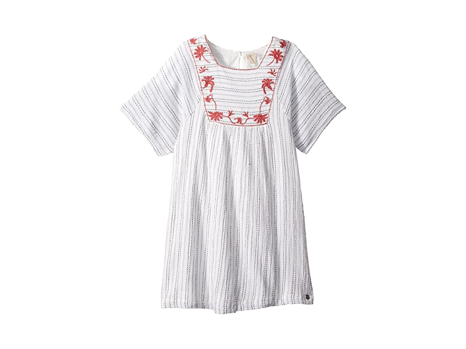 Roxy Kids Give Hugs Dress (Big Kids) (Marshmallow) Girl