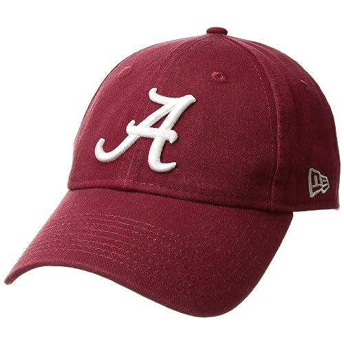 New Era Men s Alabama Crimson Tide Core Classic Dark Red One Size Fits All 7f5314681d5a