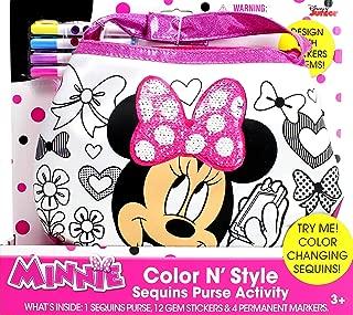 Tara Toys Minnie Mouse Color N Style Fashion Purse