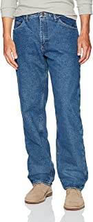 Authentics Men's Fleece Lined 5 Pocket Pant