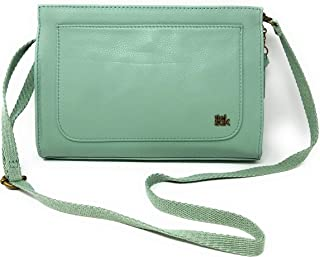 The Sak Ivy Clutch Crossbody Handbag- Mint