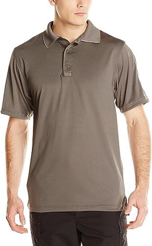 TRU-SPEC Hommes's Perforhommece 24-7 Polyester manche courte Polo Shirt, Classic vert, XX-grand - Regular