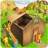 Jungle cabane Constructio Maison- Bâtiment Et L'artisanat