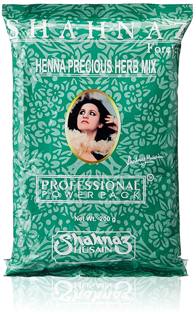 悔い改めコーチ額Shahnaz Husain Henna Precious Herb Mix, 200g (PACK OF 3)