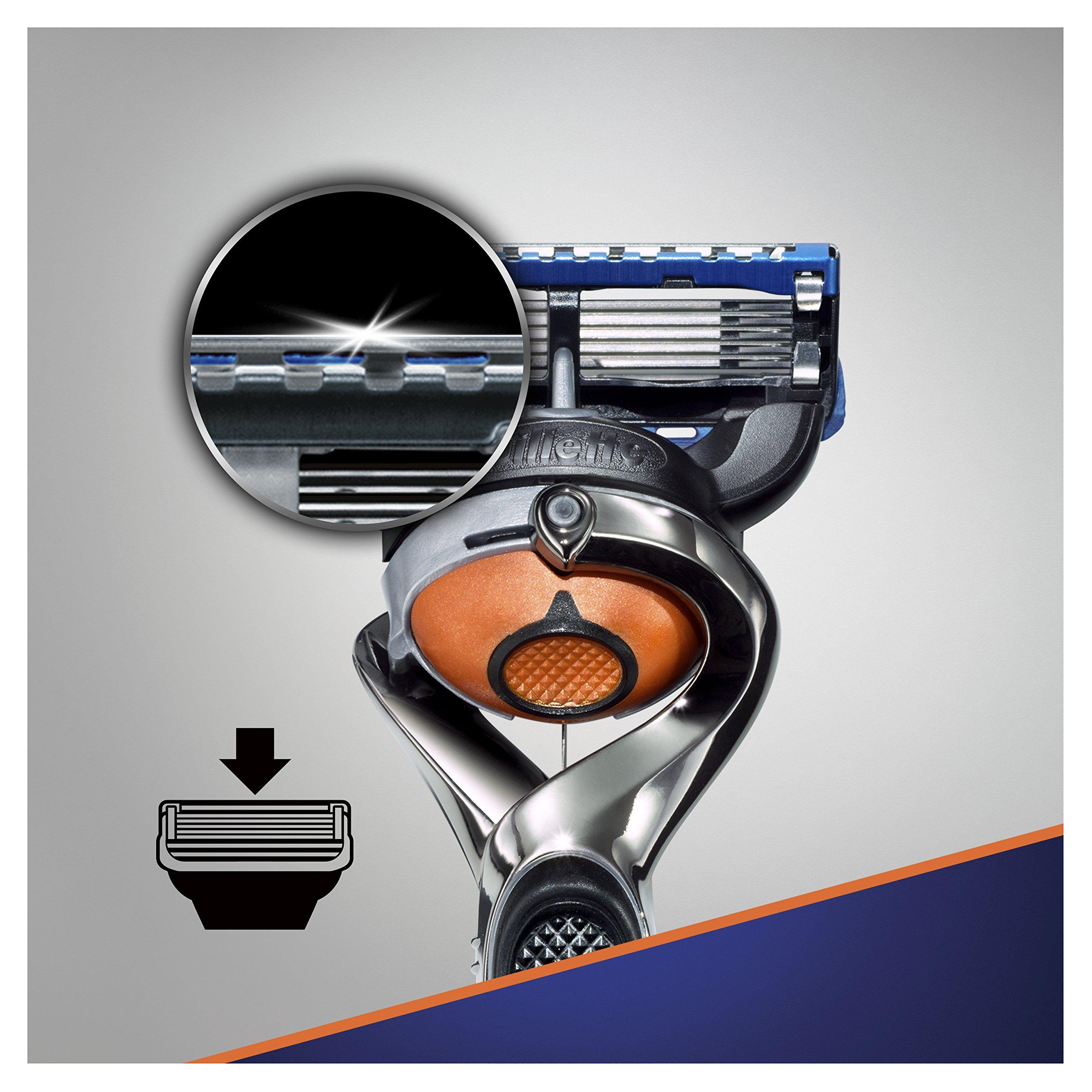 Gillette RASOIR Fusion 5 PROGLIDE FLEXBALL