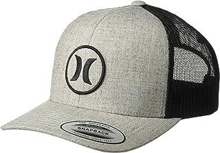Men's Logo Patch Curved Bill Trucker Baseball Cap
