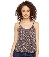 Roper - 1120 Mini Floral Print Knit Swing Tank Top