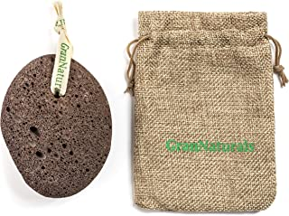 Pumice Stone for Feet, Hands, Heel, Toes - Foot Scrubber, Exfoliator, Sander for Dead, Dry & Cracked Skin - Corn & Callus Remover - Natural Exfoliating Earth Lava Pedicure Tool for Healthy Feet