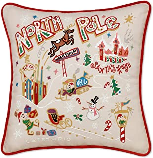 Best north pole embroidered pillow Reviews