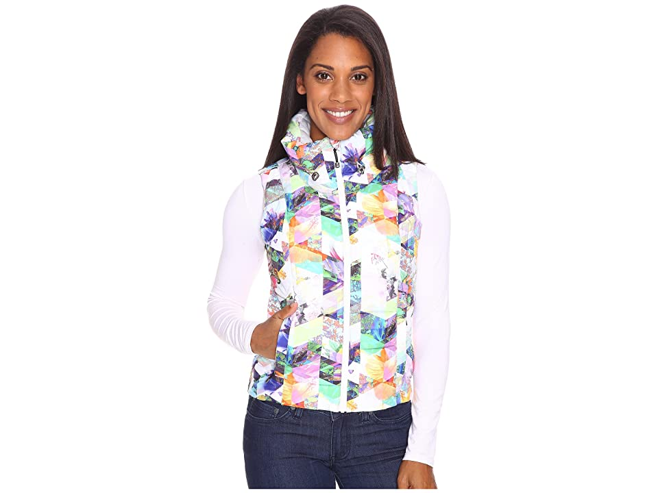 Obermeyer Dawn Insulator Vest (Chevron Floral) Women