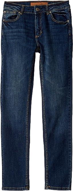 Brixton Slim Straight in Heritage Blue Wash (Big Kids)