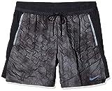 Nike Herren Pro Aeroloft Shorts Badeshorts, Grau (Dark Grey/Black), (Herstellerg