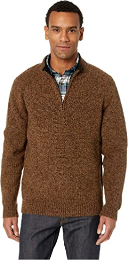 Shetland 1/2 Zip Sweater