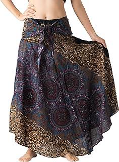 Bangkokpants Women's Long Hippie Bohemian Skirt Gypsy...