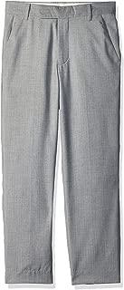 Calvin Klein Boys' Linen Flat Front Dress Pant
