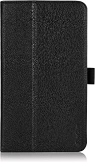 ProCase NVIDIA Shield Tablet K1 Case/NVIDIA Shield Case - Leather Stand Folio Cover Case for 2015 NVIDIA Shield Tablet K1 / 2014 NVIDIA Shield 2 Tablet (Black)