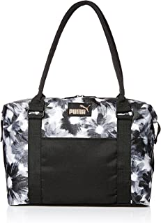 PUMA Women's Evercat Jane Tote, black/white, OS