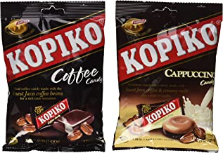 Kopiko Candy Variety Pack (Coffee and Cappuccino), 4.23 Ounce (Pack of 2)