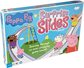 Wonder Forge Peppa Pig Surprise Slides Toy for Boys & Girls Age 3 & Up - Journey Through an Ever-Changing Game Board!