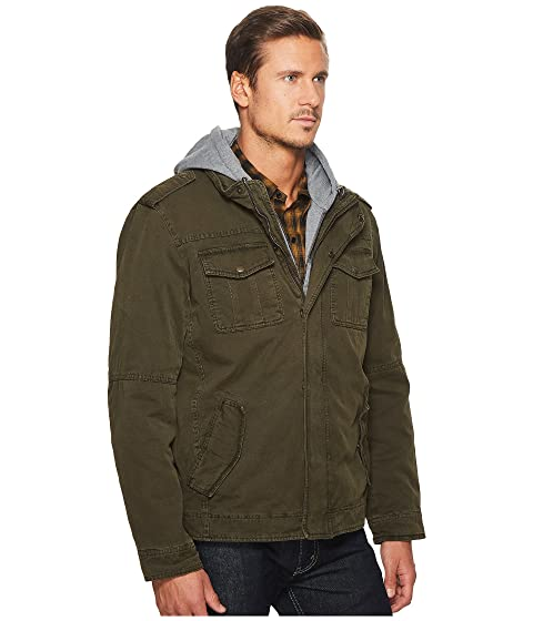 Zip Bib Levi's® Hoodie Lining Out Pocket Two with Hood Jersey and Sherpa wfqB4