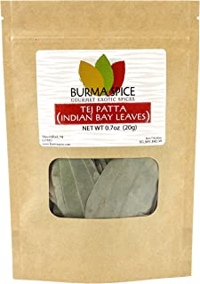 Indian Bay Leaves (Tej Patta) Pure Natural Dried Indian Spice Kosher (0.7oz.)
