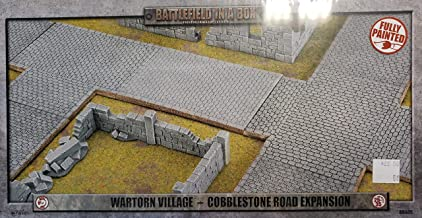 Flames of War Battlefield in a Box Cobblestone Road Expansion