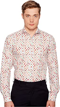 Eton - Contemporary Fit Ice Cream Shirt