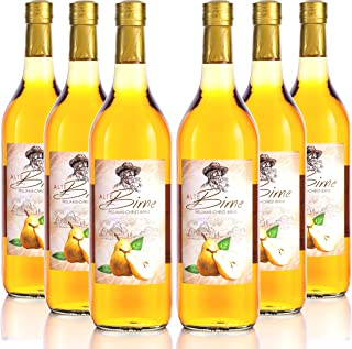 Alte Birne 6 Flaschen à 1 Liter Kultbrand Nürnberg, Williams-Christ-Birne/Vieille Poire, Direkt vom Hersteller, Sensationelle Qualität, Qualitäts Prinzipien