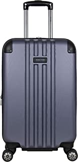 """Kenneth Cole Reaction Reverb 20"""" Carry-On Lightweight Hardside Expandable 8-Wheel Spinner Cabin Bag Travel Suitcase, Smokey Purple"""