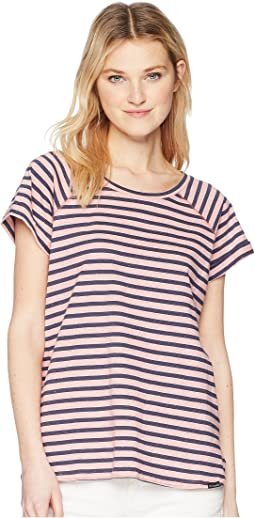Trail Shaker Stripe Short Sleeve Shirt