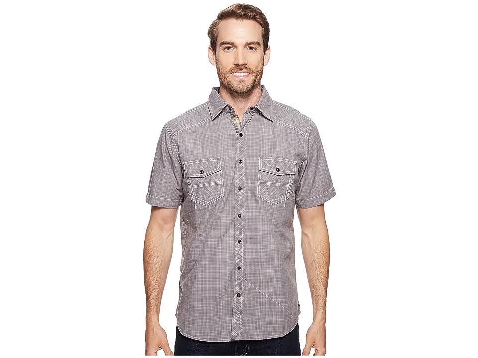 Ecoths Somersett Short Sleeve Shirt (Griffin Grey) Men