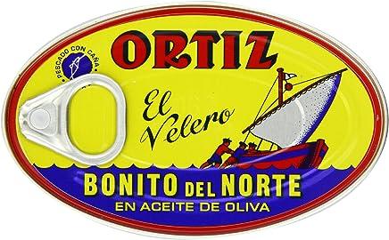 Ortiz Bonito Del Norte - White Tuna in Olive Oil, 3.95-Ounce Tins (