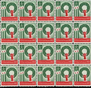 vintage holiday postage stamps